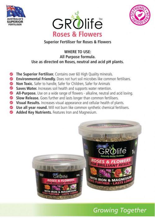 Domestic Product Range, Roses
