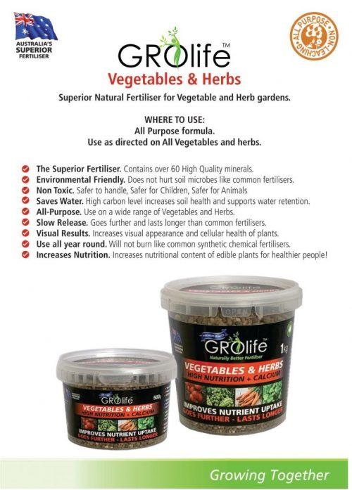 Domestic Product Range, Vegetables